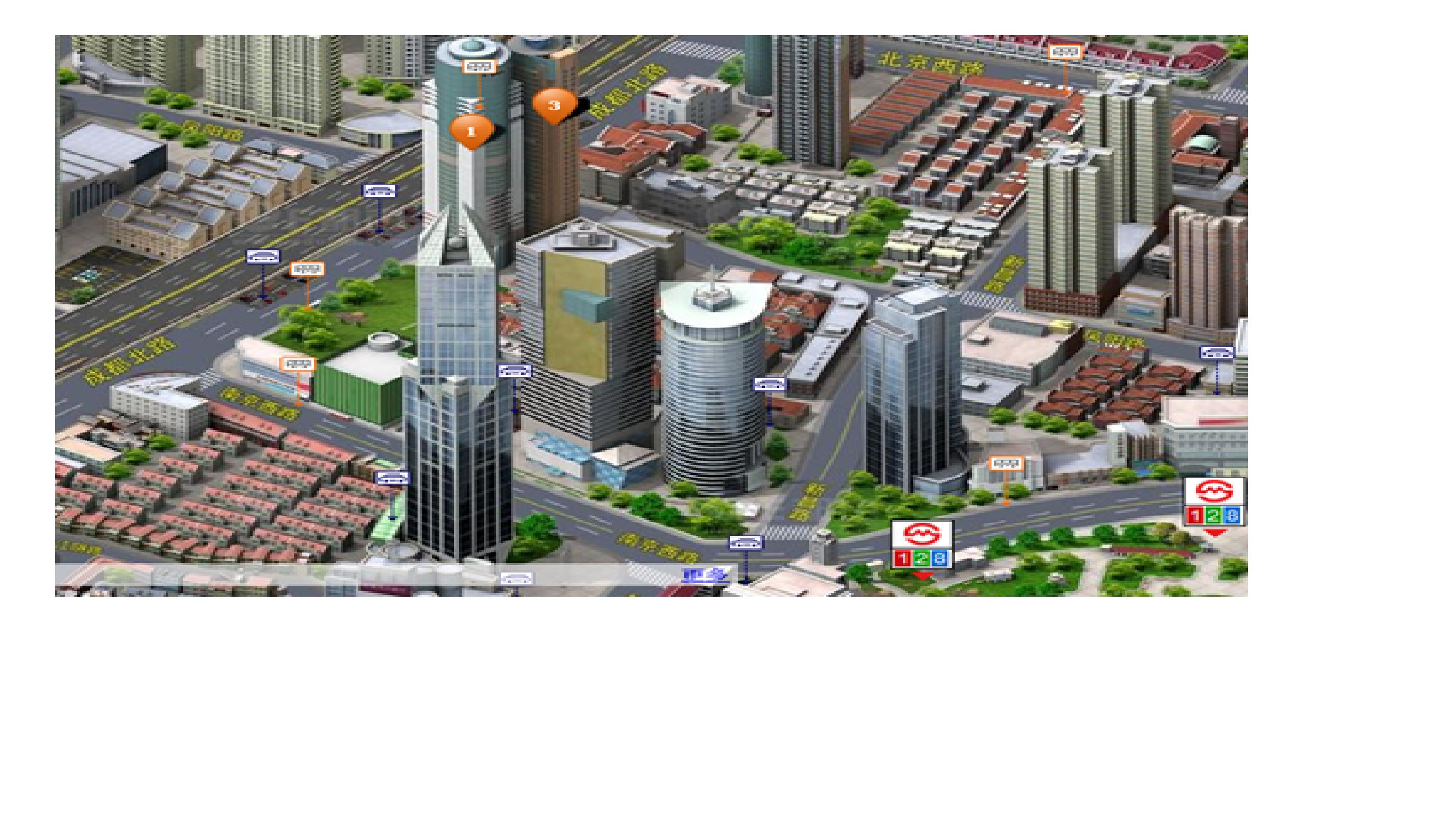 上海市三维地图